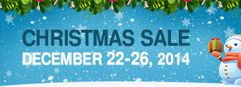Christmas Sale 2014: 10-90% off for hosting, licences and exnetsions, modules by partners included!