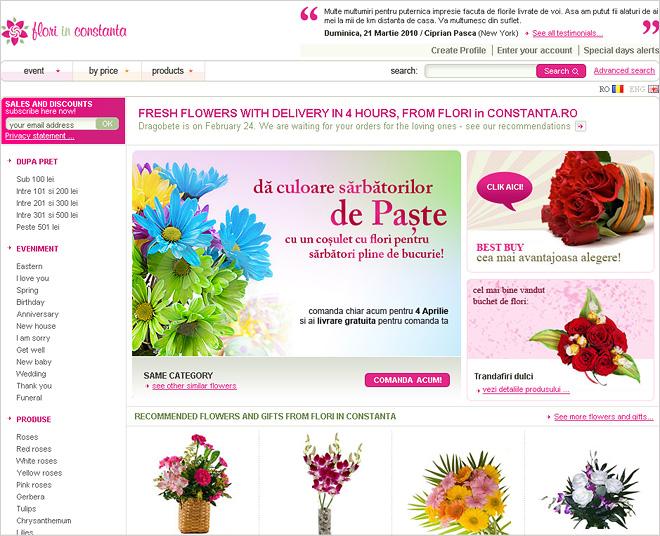 Flori in RO