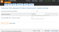 Customer Files Uploads & Product Attachments