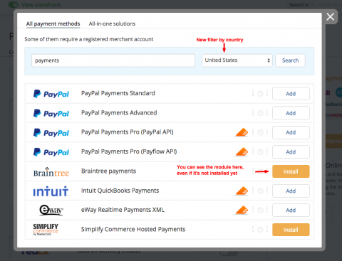 Payment methods revision in X-Cart 5.2.6