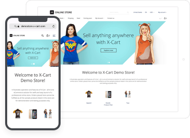 Mobile first e-commerce solutions