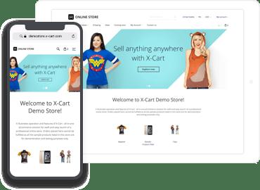 Mobile first eCommerce platform