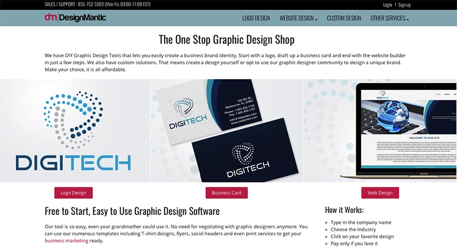 Designmantic Web Design Software